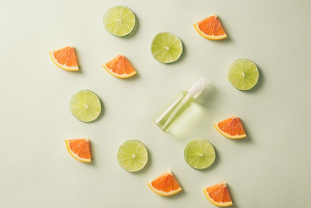 Bouteille de sérum de vitamine c
