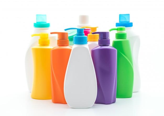 Bouteille de shampoing ou revitalisant capillaire