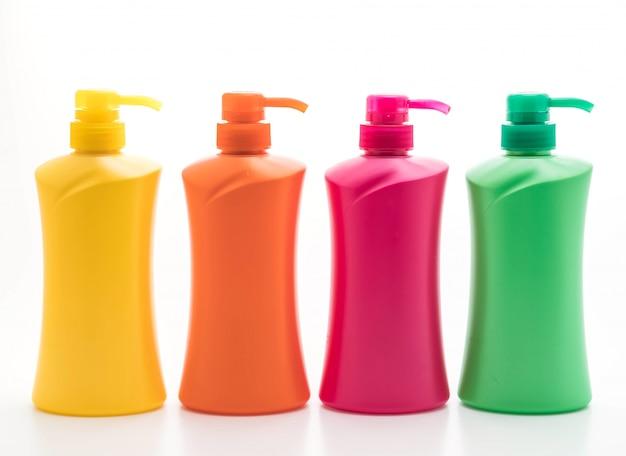 Bouteille de shampoing ou revitalisant