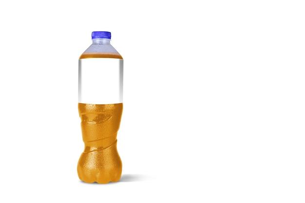 Bouteilles de boissons non alcoolisées isolated on white