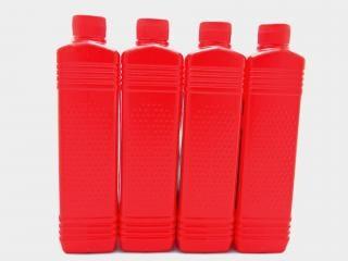 Bouteilles en plastique d'huile