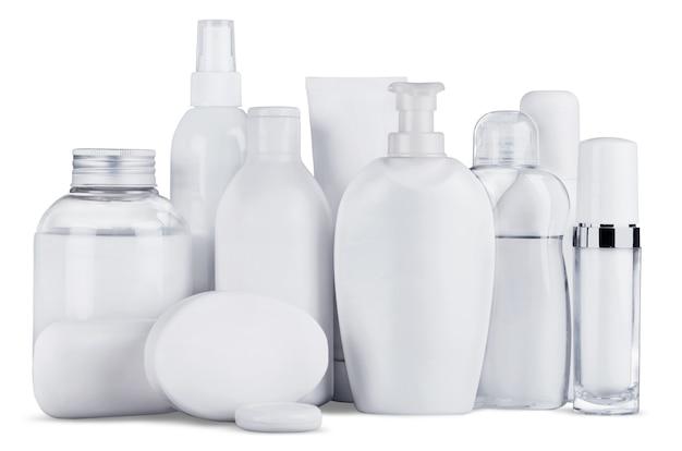Bouteilles et produits cosmétiques