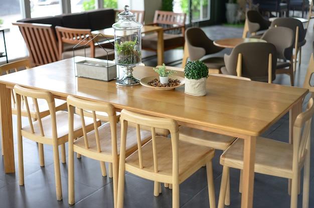Boutique défocalisée floue bar counter cafe restaurant relaxation concept