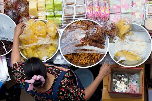 Boutique de desserts de rue