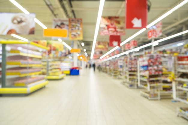 Boutique floue abstraite, arrière-plan