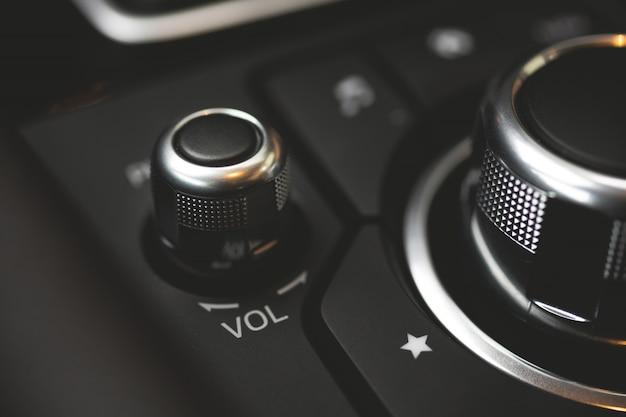 Bouton de contrôle du volume