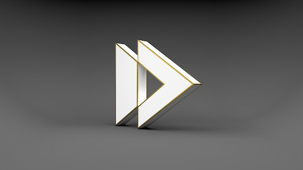 Bouton flèche logo