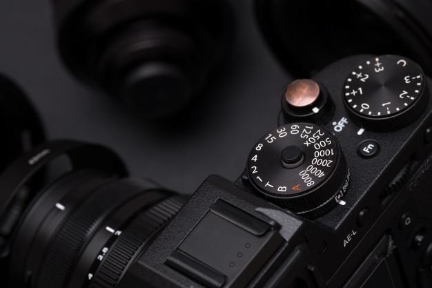 Les boutons de l'appareil photo numérique se bouchent