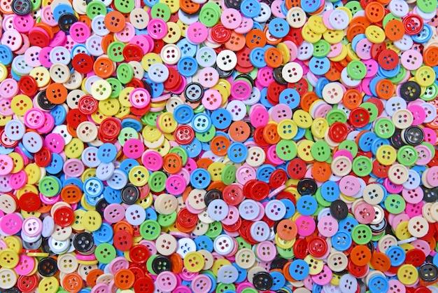 Boutons colorés (fermoir)