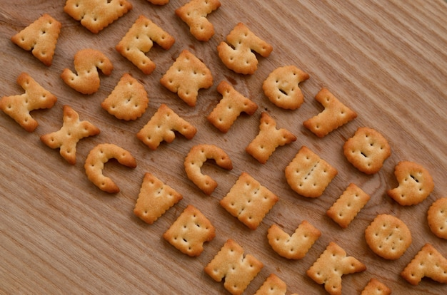 Boutons du clavier cracker
