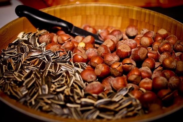 Bowl avec des noix