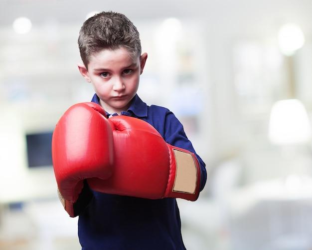 Boxer enfant