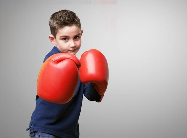 Boy combats