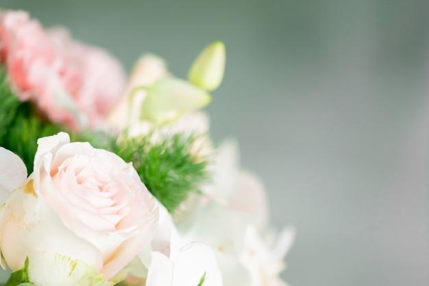 Branches de décoration de mariage bouquet de belles fleurs