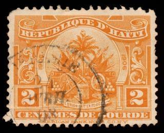Bras état d'orange timbre