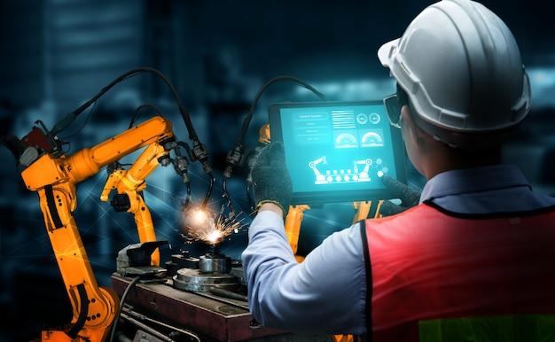 Bras robotiques industriels intelligents pour la technologie de production en usine numérique