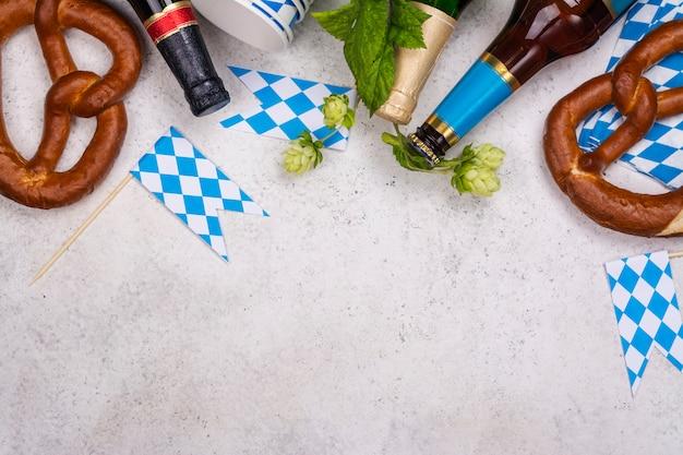 Bretzels et bière