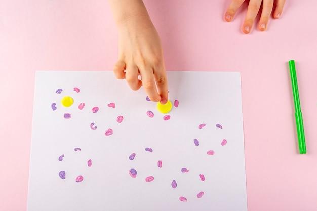 Bricolage et créativité des enfants instruction étape par étape