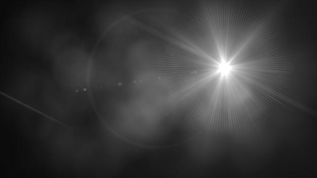 Brillance floue avec des lumières bokeh