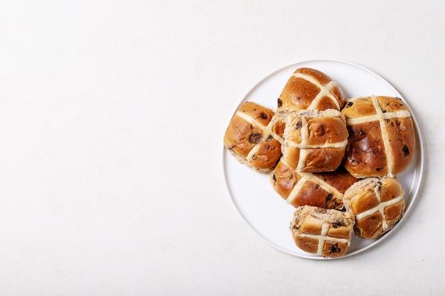 Brioches de pâques traditionnelles
