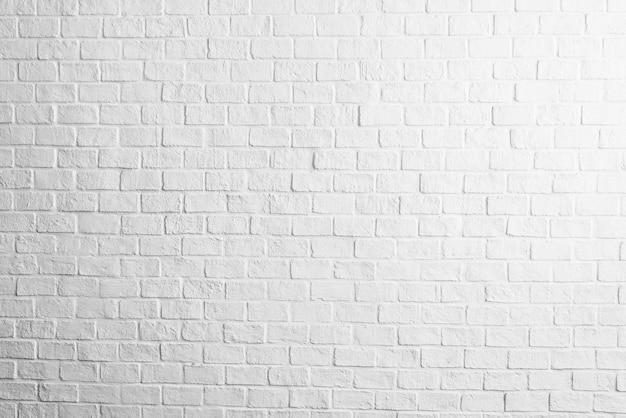 Brique blanc textures de mur de fond