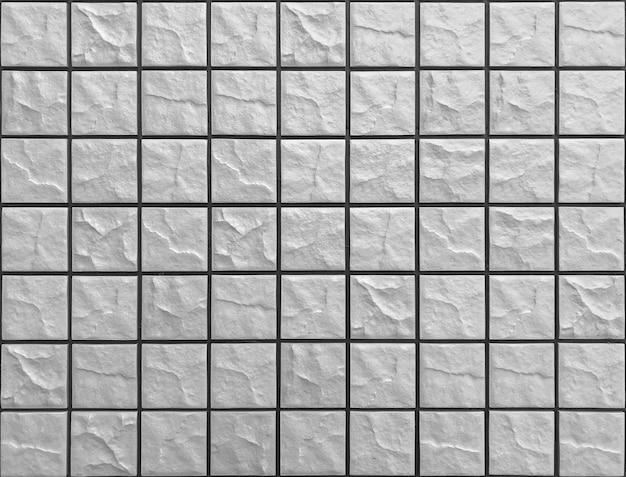 Brique en pierre carrée bloc fond de mur de texture.