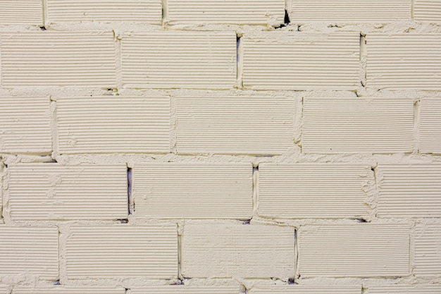 Briques apparentes avec surface rugueuse