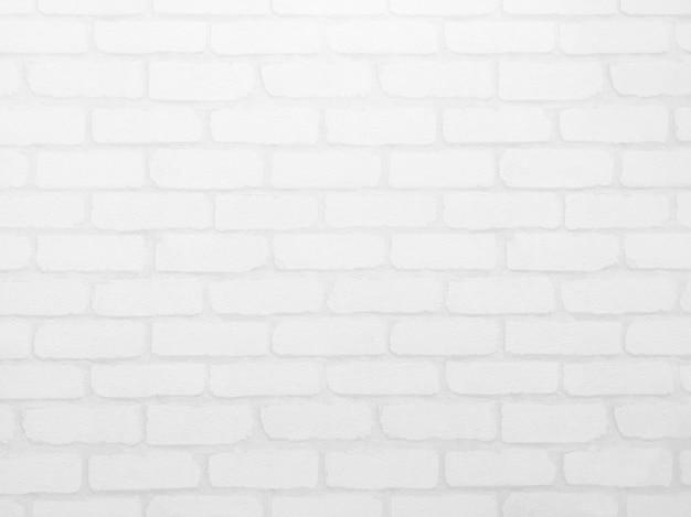 Briques blanches et texture béton pour motif abstrait.
