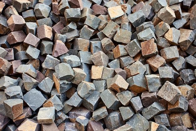 Briques carrées en pierre