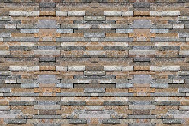 Briques en pierre de marbre design mince moderne bloc fond de texture mur clôture maçonnerie.