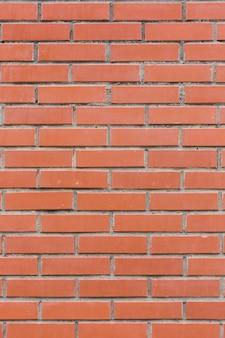 Briques de pierre rouge mur texture arrière plan vertical