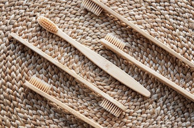 Brosse à dents en bambou écologique