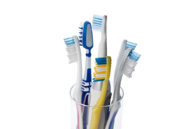 Brosse à dents isolée