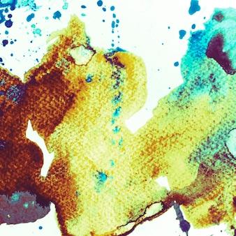 Brossé peint abstrait