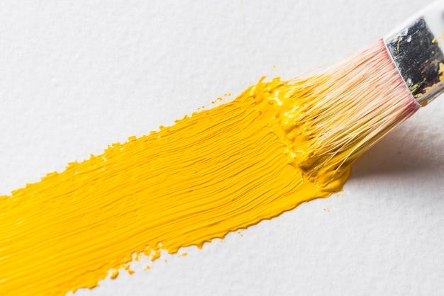 Brosse de peinture brillante