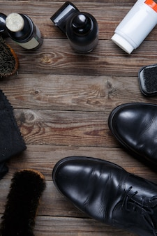 Brosses cire accessoires chaussures