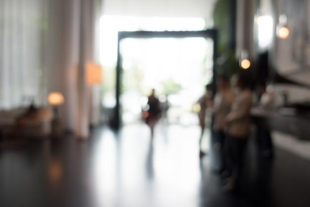 Brouillé entrée de l'hôtel