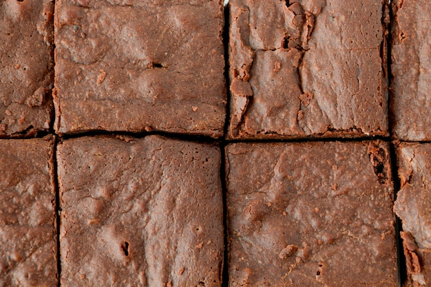Brownie au chocolat fait maison