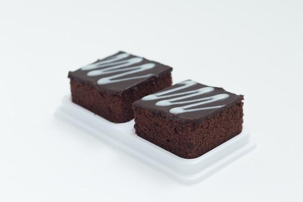 Brownies au chocolat frais