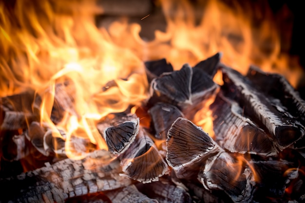 Brûler du bois de chauffage