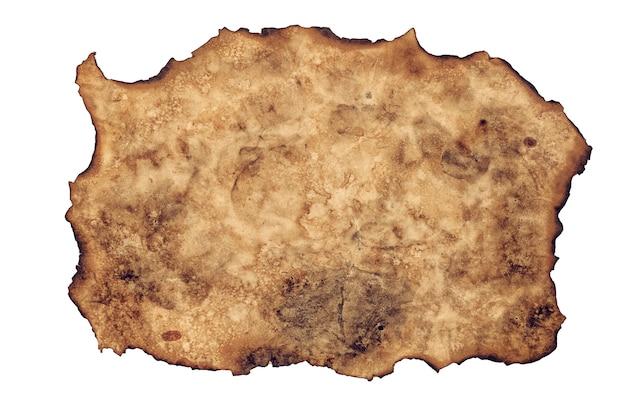 Brûler la feuille de fond de texture de papier brun de la vieille toile de fond de textures de papier.