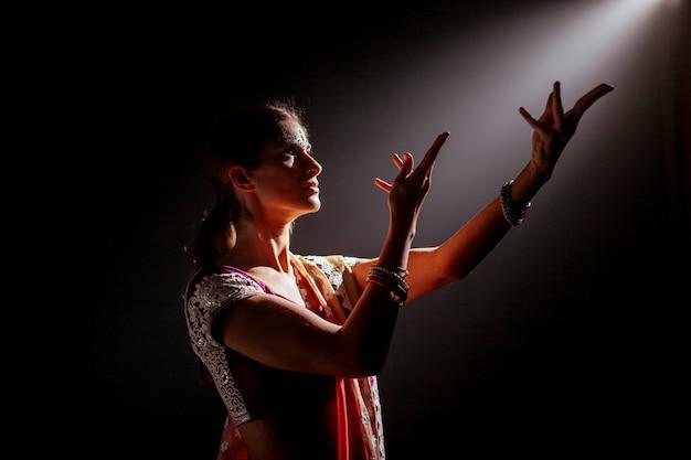 Brunete femme indienne