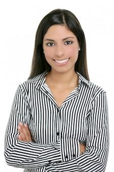 Brunette d'inde étudiante bussinesswoman