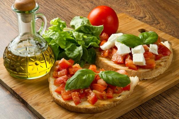 Bruschetta italienne