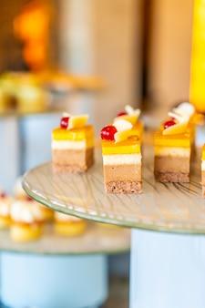 Buffet traiteur de desserts sucrés