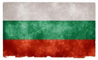 Bulgaria flag grunge