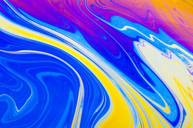 Bulle de savon abstraite multicolore