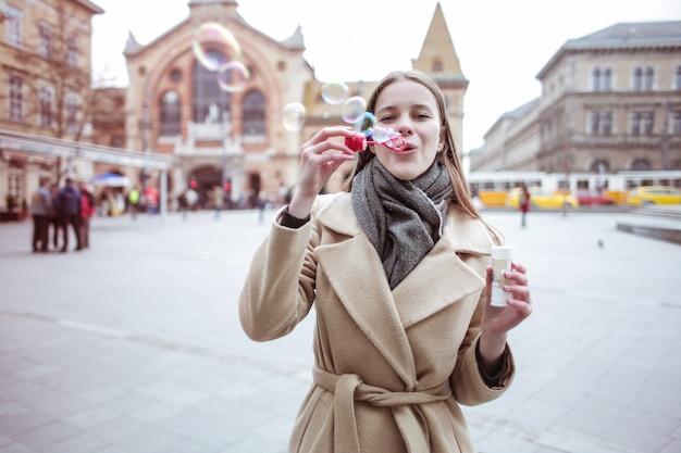 Des bulles dans la ville