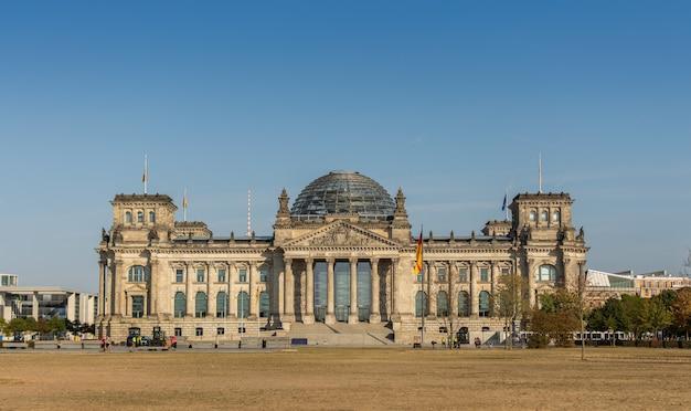 Le bundestag est le parlement fédéral allemand, berlin