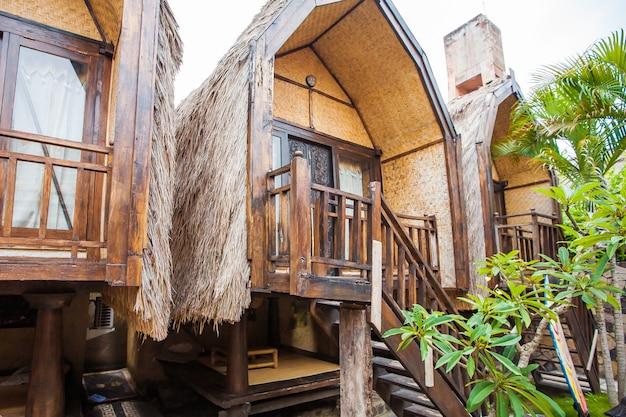 Bungalow. tourisme exotique. le reste de l'équateur. bali, indonésie